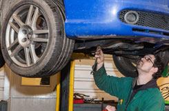 Image of MOT testing centre and servicing